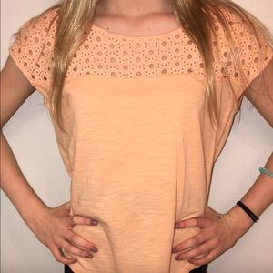 Peach Loft Blouse